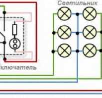 Как подключить свет выключатель через автомат