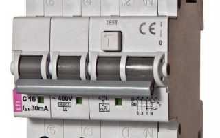 Автомат выключатель с независимым расцепителем