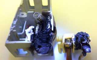Автоматический выключатель отключается при нагрузке