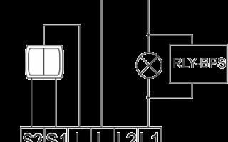 Схема включения проходными выключателями