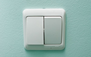 Схема подключения двухклавишного выключателя от двух автоматов