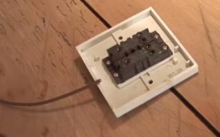 Схема монтажа выключателя своими руками